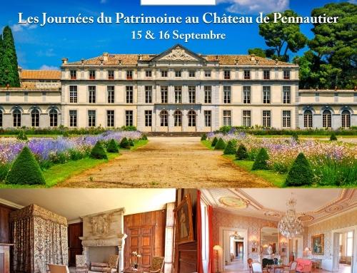 Les Journées du Patrimoine au Château de Pennautier – 15 & 16 septembre